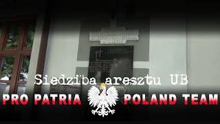 Siedziba aresztu Urzędu Bezpieczeństwa w Węgrowie