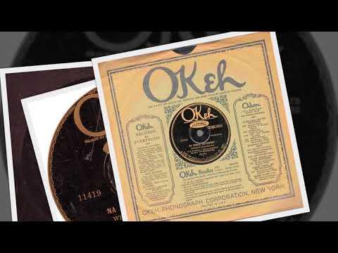 Polish 78rpm recordings, 1929. OKeh 11419. Eugene Bromiński: Nasz –oberek