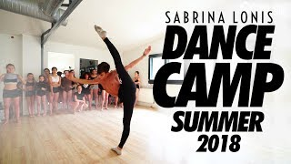 Sabrina Lonis DANCE CAMP Summer 2018 | contemporary jazz workshop Paris | By Artmosphere