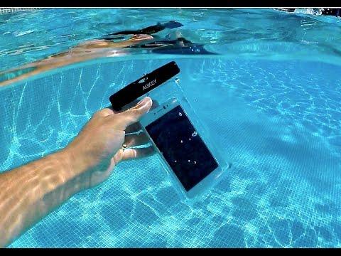 Funda bolsa móvil Impermeable universal Aukey