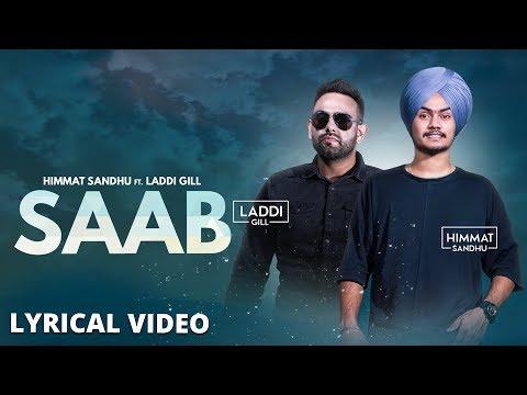 Saab (lyrical Video)  Himmat Sandhu