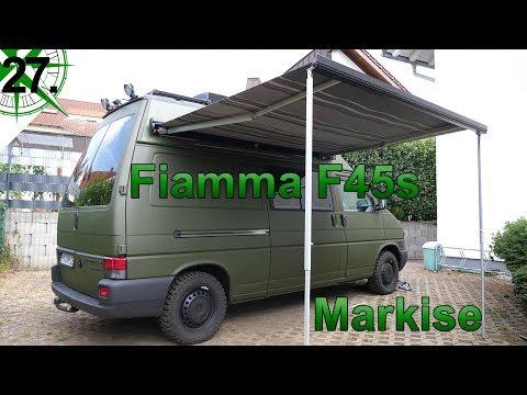 Innenausbau   Markise Fiamma F45s   vom VW T4 Syncro Transporter zum Camper   # 27.