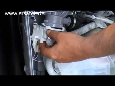 Geschirrspüler Pumpe ausbauen anleitung