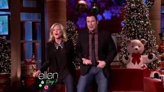 John Travolta & Olivia Newton John   Ellen   You're The One That I Want 05 12 12
