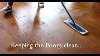 Keeping Hardwood Floors Clean   My Method & Favorite ProductsI