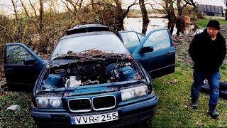 Нашли BMW e36 в лесу. Пригодилась! // 2 в 1 [4k/UHD]