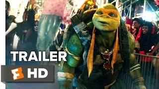 Teenage Mutant Ninja Turtles: Out Of The Shadows - Official Trailer #2 (2016)