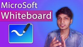 Best Whiteboard Software for teaching online - Microsoft Whiteboard | Make Digital Notes Online