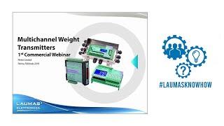Commercial Webinar - Multichannel Weight Transmitters