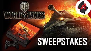 World of Tanks Gameplay - PAX East Tickets and Custom PS4 Sweepstakes
