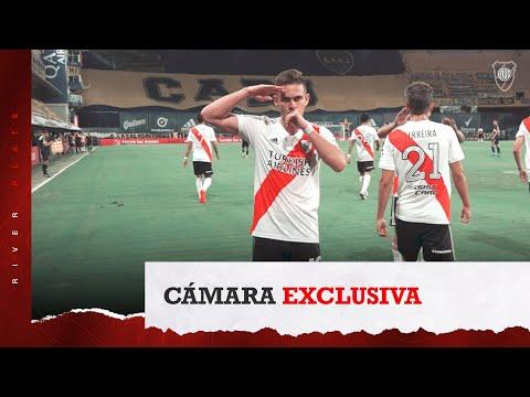 [Ojo Millonario] El gol y el festejo de Borré frente a Boca, desde adentro
