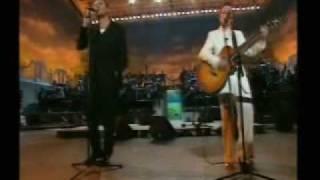 Simon Le Bon and Dolores O'Riordan - Linger (Live)
