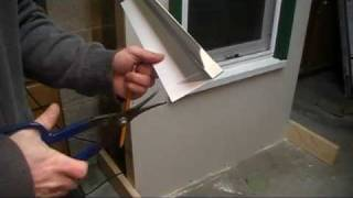 How to install a roof edge
