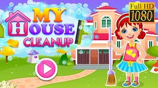 My House Cleanup Game Review 1080P Official Girl Vasco  Casual  Pretend Play 2016
