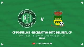 R.F.F.M. - SEGUNDA DE AFICIONADOS (Grupo 1) - JORNADA 17: C.F. Pozuelo de Alarcón 4-1 Recreativo Soto del Real C.F.