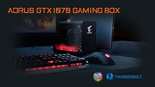 AORUS GTX 1070 Gaming Box Product Walkthrough