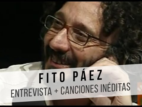 Fito Páez video Entrevista + Canciones inéditas - Botafogo TV 2005 (CM)