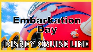 Embarkation Day / Disney Cruise Line / Day 1 / February 2020