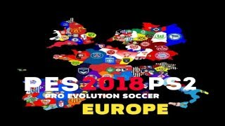 PES 2018 PS2 - EUROPE BETA ATUALIZADO DOWNLOAD ISO AND REVIEW