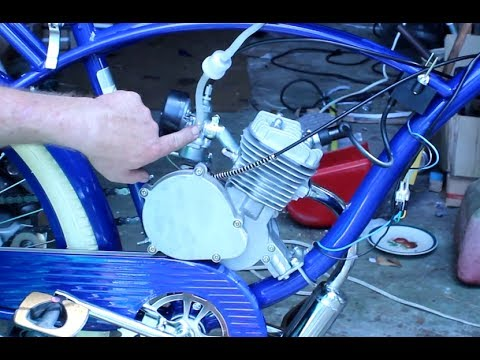 How To Build Motorized Bicycle Final Assembly & Starting