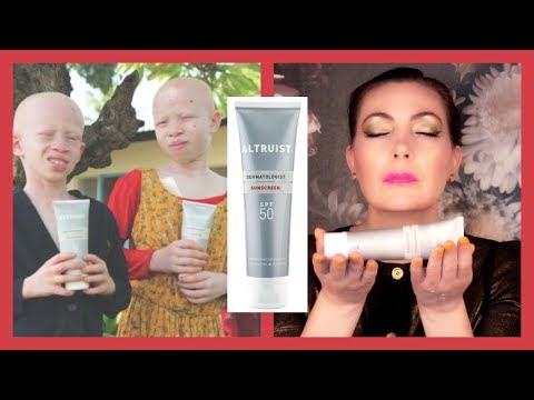 Altruist Dermatologist Sunscreen SPF 50 ULTRA UVA-UVB Sunscreen Review | Sunscreen Sunday