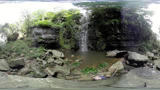 Cachoeira Urubu Rei em Pedro II - Realidade Virtual VR 360