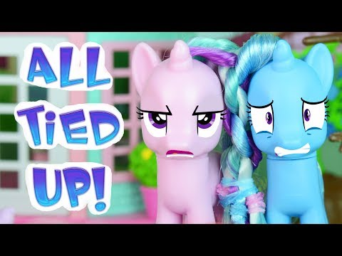 All Tied Up! - My Little Pony Stop Motion Short Film | MLP Fever