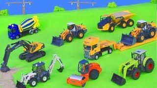 Bagger, Trucks, Spielzeugautos, Lastwagen & Kran Construction Spielwaren Baustelle | Excavator Toys
