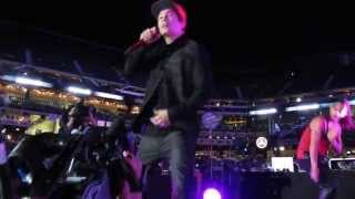 "Austin Mahone ""Say You're Just A Friend"" New York Mets Concert Series 8/27/14 Citi Field"