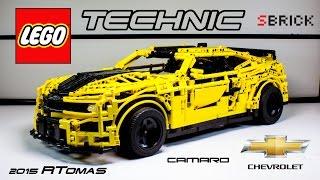 MOC Lego Technic Transformer Chevrolet Camaro 2015 with SBrick
