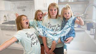 We LEFT TAYLOR ALONE! Babysitting DISASTER