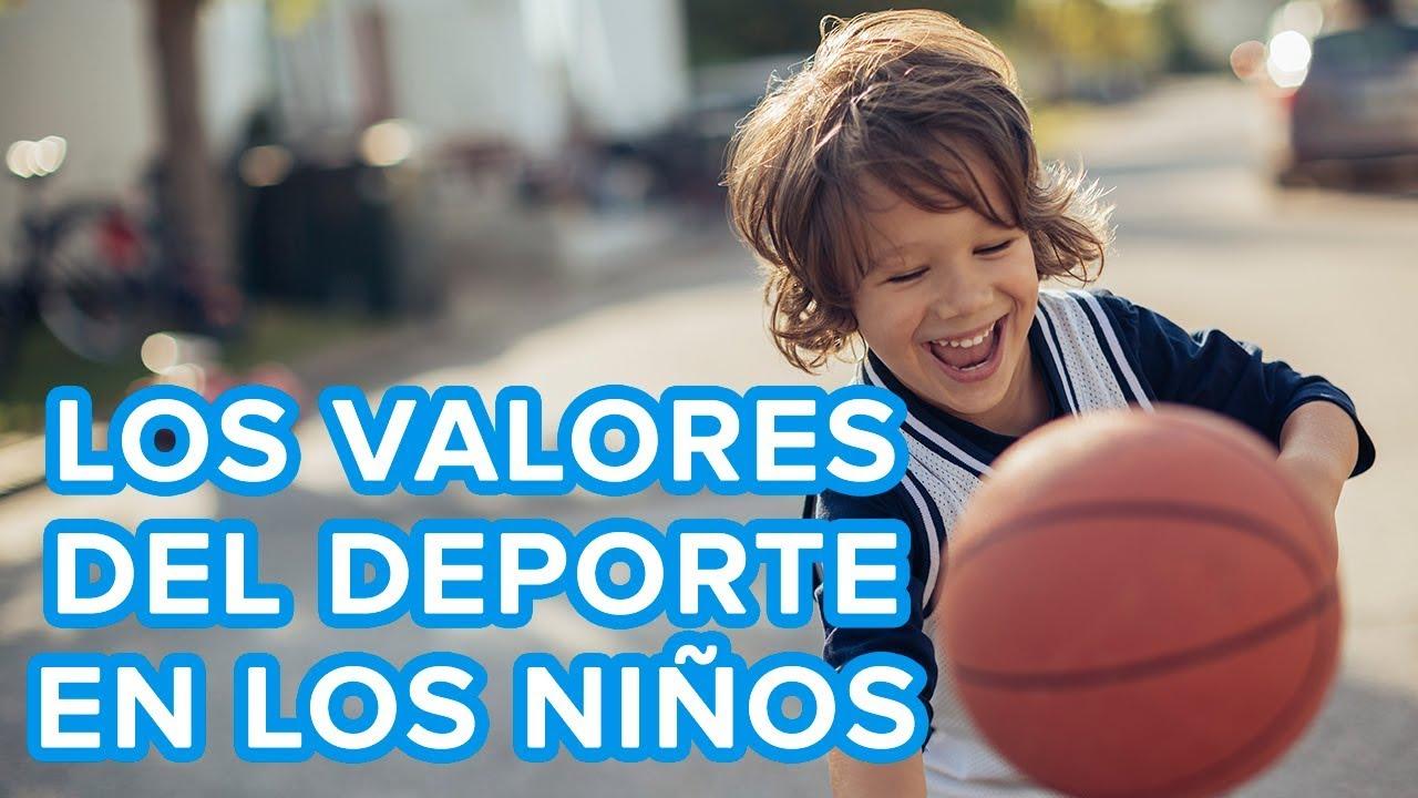 Qué valores transmite el deporte a los niños ????
