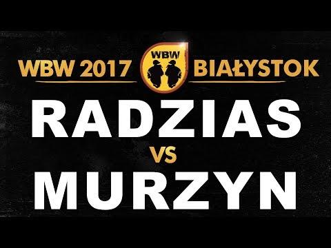 bitwa MURZYN vs RADZIAS # WBW 2017 Białystok (1/2) # freestyle battle