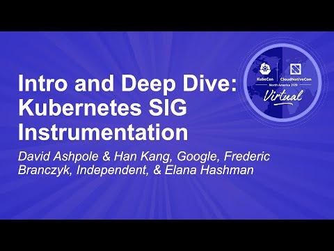 Image thumbnail for talk Intro and Deep Dive: Kubernetes SIG Instrumentation