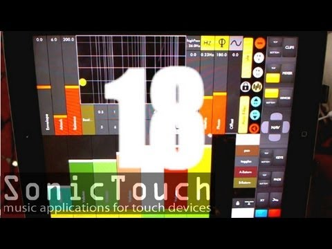 Sonic Touch 18 - Liine And Touchable - Ableton Control Mp3