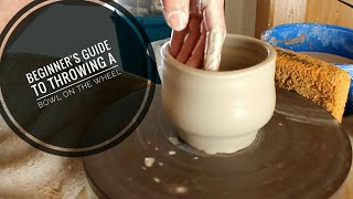 Beginners Guide To Throwing A Bowl  + Metal Rib Trick