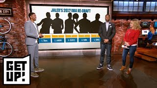 Jalen Rose's 2017 NBA re-draft: Who goes No. 1 overall? | Get Up! | ESPN