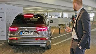 Audi Q7 (2018) Automated Parking