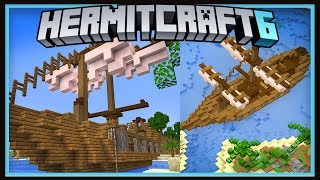 Hermitcraft Season 6: Building The New Treasure Map Shop!  (Minecraft 1.13.2 survival  Ep.36)