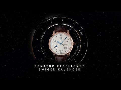 Exzellente Premiere: die Senator Excellence Ewiger Kalender