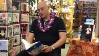 Crocodile and Crane read by Arthur Rosenfeld at Basically Books, Hilo 3/2014