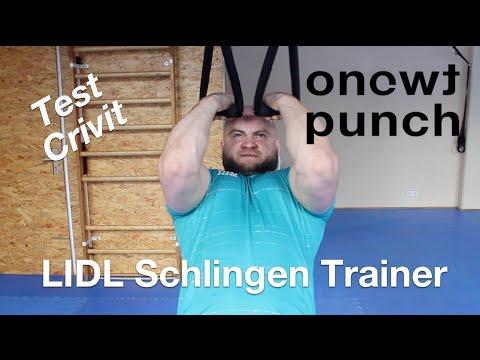 Schlingen Trainer von LIDL Test. Übungen Krafttraining,Funktionales Training mit Vitali.