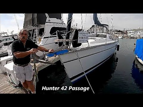 Hunter 42 Passage video