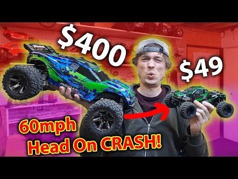 TOTAL CARNAGE! Fun RC Car Crash & Bash Day Out