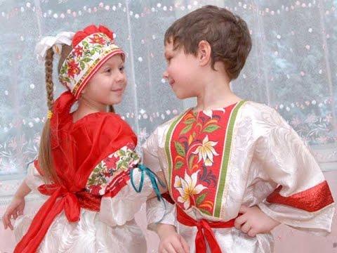 Русский народный танец. Танцуют дети. Смотрим!