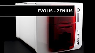 Evolis - Zenius printer - Designed for single sided printing of a large variety of plastic cards.