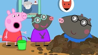 Peppa Pig Official Channel | Peppa Pig Visits Her New Friend Molly Mole's House
