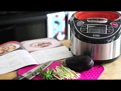 Tiger JAX-T Rice Cooker For Good Food and A Good Look in the Kitchen