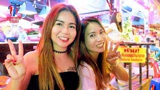 Night Walk Along The 7 Beach Road, #Pattaya, December 2017, Vlog 202