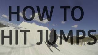Pt. 1:  How to hit a jump on skis